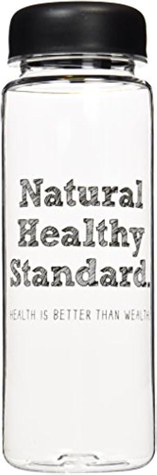 はげ圧縮された作成するNatural Healthy Standard ロゴ入り ドリンクボトル 500ml
