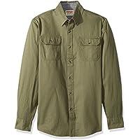 Wrangler Authentics Men's Long-Sleeve Classic Woven Shirt
