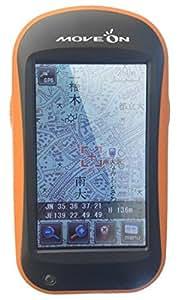 MOVEON 登山ルート 作成 ハンディ GPS ナビゲーション < ヤマナビ2.5 期間限定 プレミアムパック 東日本版 西日本版 マイクロSDカード モバイルバッテリー(PES-6600S) 付き > 【 本格 登山用 ナビ 高感度 GPS内蔵 みちびき対応 】 NVG-M2.5 ( 液晶フィルム 付 )