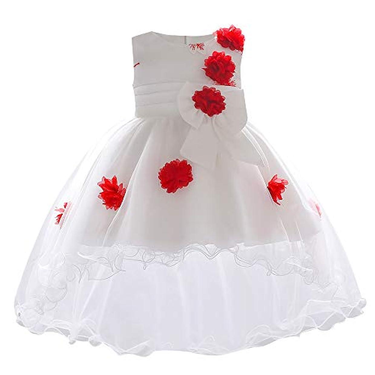 不要剃る未来Mhomzawa ドレス 女の子 結婚式 発表会 披露宴 フォーマルドレス ガールズ アシンメトリードレス 子供 キッズ ワンピース