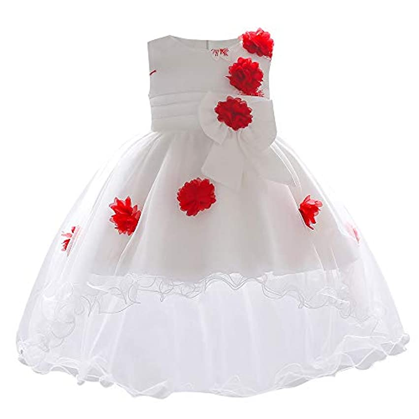 Mhomzawa ドレス 女の子 結婚式 発表会 披露宴 フォーマルドレス ガールズ アシンメトリードレス 子供 キッズ ワンピース