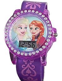 Disney Frozen LCD時計、2バンドセット