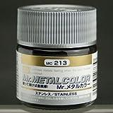 【溶剤系アクリル樹脂塗料】Mr.メタルカラー MC-213 ステンレス