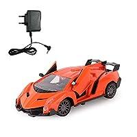 1:24 5CH赤外線リモコンワンキーオープンドア高速ドリフトレーシングカー