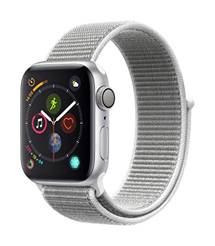 Apple Watch Series 4(GPSモデル)- 40mmシルバー...