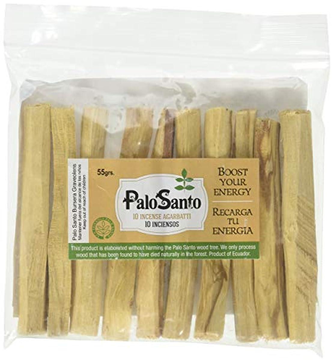 ファイター取り戻す識別プレミアムAuthenticエクアドルkiln-dried Palo Santo ( Holy Wood ) Insence Sticks ( 10 )、野生の収穫、100 %自然のPurifying、クレンジング、ヒーリング...