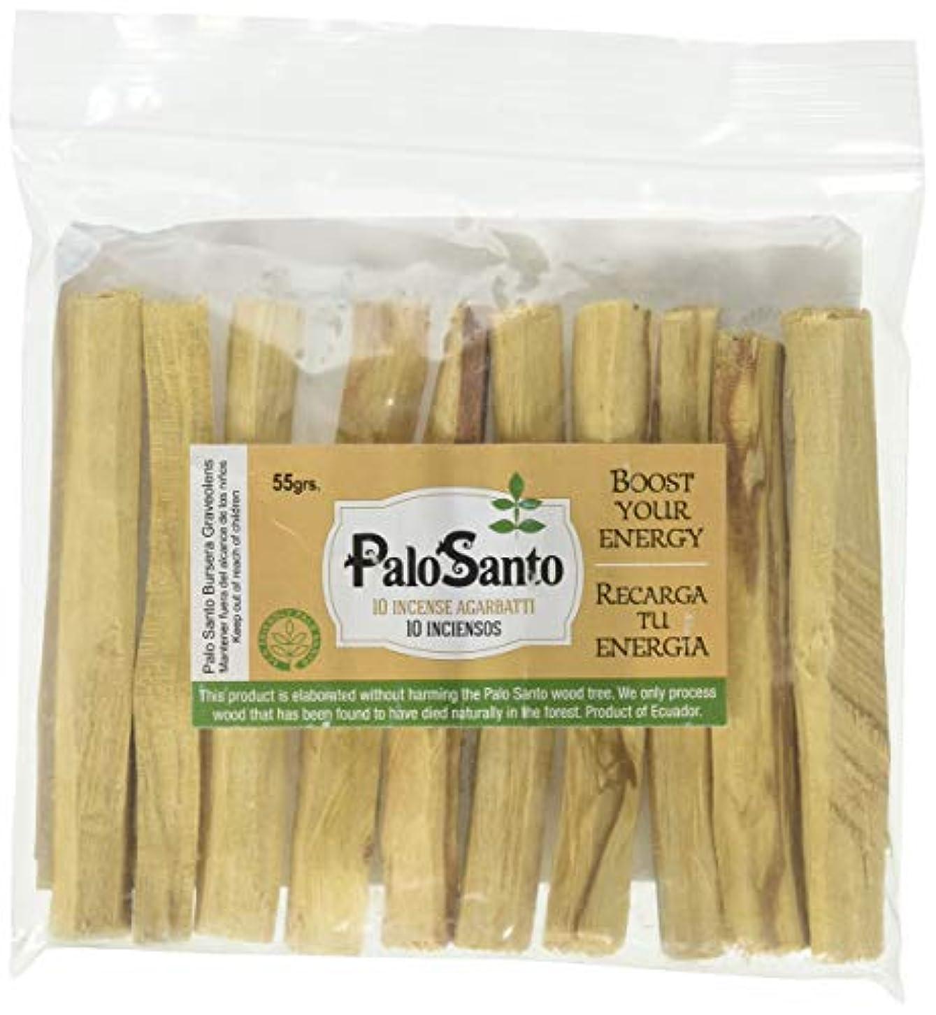 暴露遺伝的我慢するプレミアムAuthenticエクアドルkiln-dried Palo Santo ( Holy Wood ) Insence Sticks ( 10 )、野生の収穫、100 %自然のPurifying、クレンジング、ヒーリング...