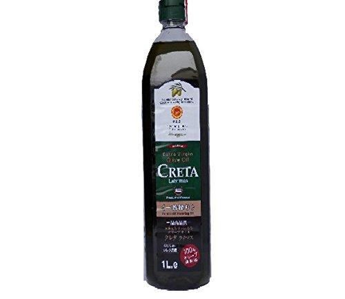 クレタ ラチマス エクストラ バージン オリーブ オイル ギリシャ産 1000ml (1本セット)