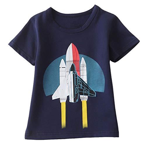 329ebb48afc50 Kaiweini子供服Tシャツ無地 半袖 ロンT キッズ ベビー 男の子 女の子恐竜柄 サメ