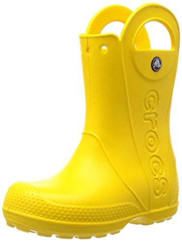 [クロックス] ハンドル イット レイン ブーツ キッズ  12803 Yellow J3(21.0cm)