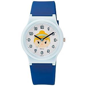 [シチズン キューアンドキュー]CITIZEN Q&Q 腕時計 Disney コレクション 『 TSUMTSUM 』 『 シンデレラ 』 ウレタンベルト ブルー HW00-010 ガールズ