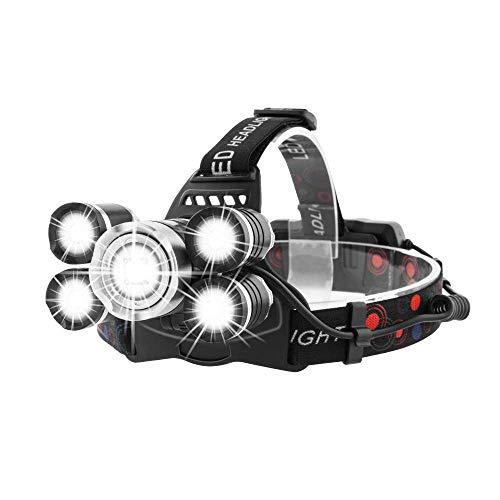 MaxTeck LED ヘッドライト【実用点灯4.5-8時間...