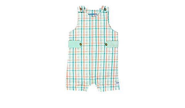 RuggedButts Baby//Toddler Boys Jon Jon Romper One-Piece Overall Shortall BRWYYXX-JONJ-SC-BABY