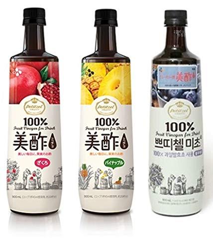 美酢 ミチョ 飲み比べ3本セット 各900ml (ざくろ・パイナップル・ブルーベリー)
