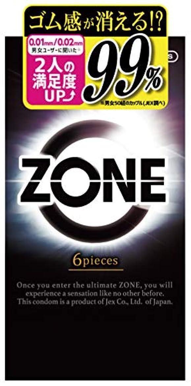 国カウントアップジーンズZONE ゾーン コンドーム 6個入