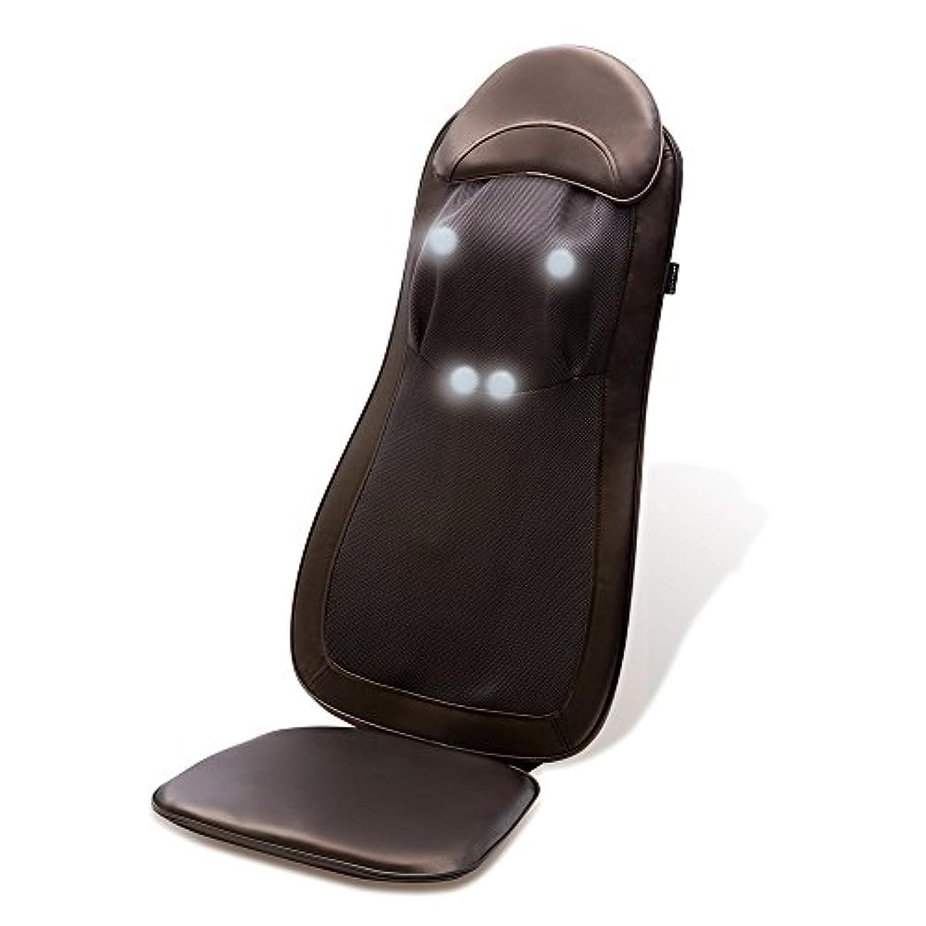 もろい事業考えドクターエア 3Dマッサージシート プレミアム (ブラウン) MS-002BR