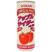 オーガニック アップルサイダー+レモン 1箱/30缶・有機りんご・レモン使用