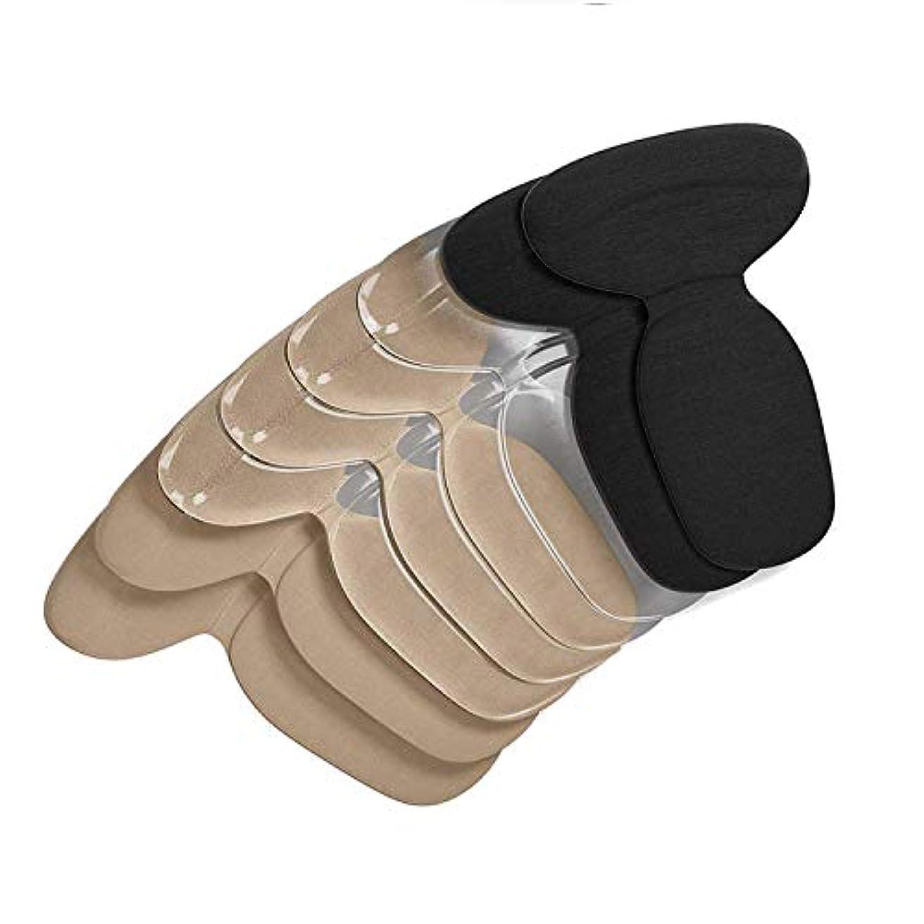 ワーム精度歩道4ペア 靴擦れ防止 かかと パッド インソール 滑り止め 保護 ハイヒール 革靴 スニーカーに対応 メンズ レディース