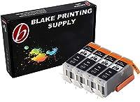 Blake印刷供給4パックインクカートリッジfor 270、PGI - 270、PGI - 270X L 4Bigブラック