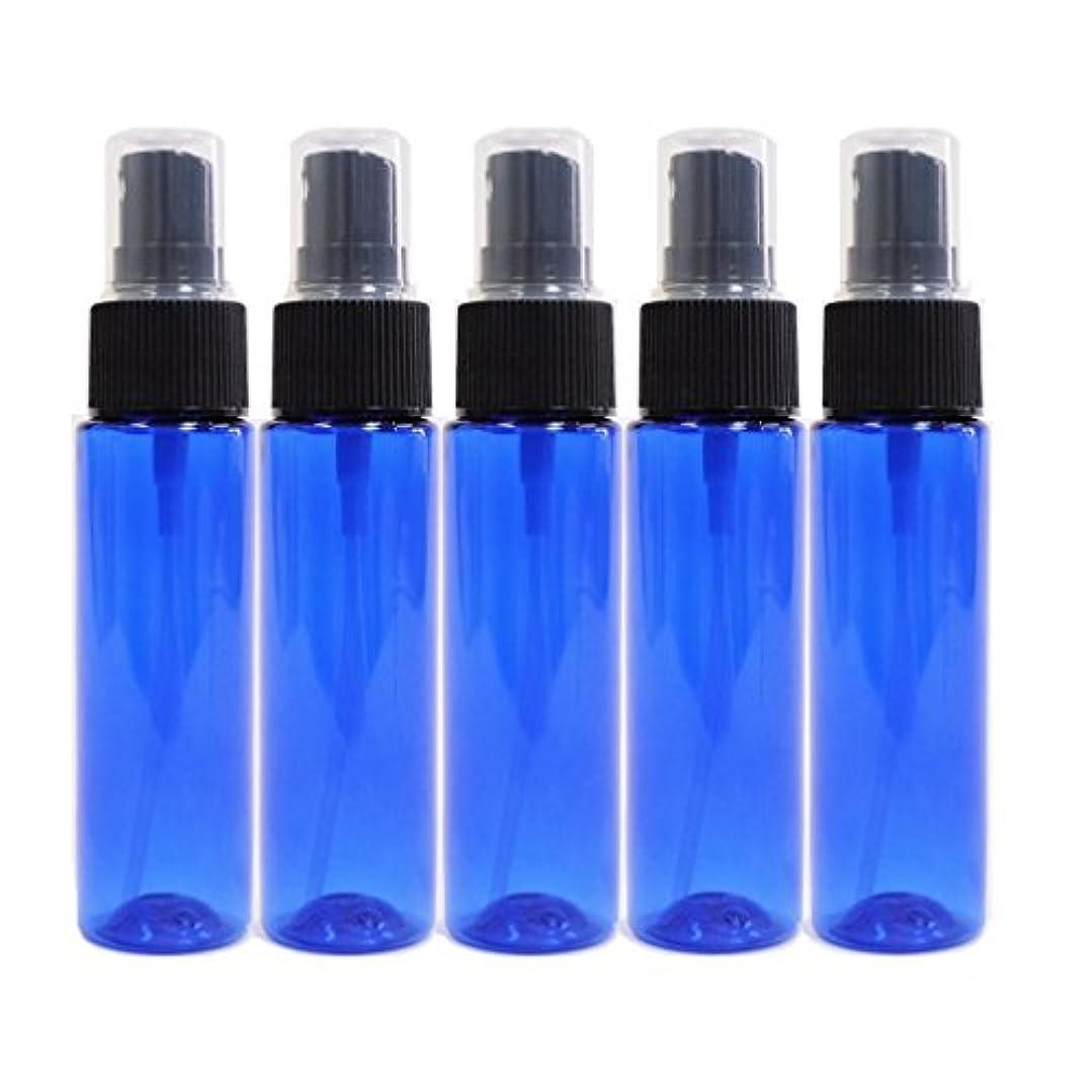 酔って悪因子隣接するease 保存容器 スプレータイプ プラスチック 青色 30ml×5本