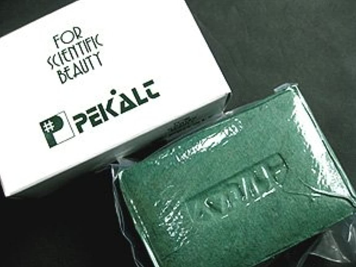 解説中傷ぜいたくペカルト石鹸 120g (海藻エキス 葉緑素配合) 無香料