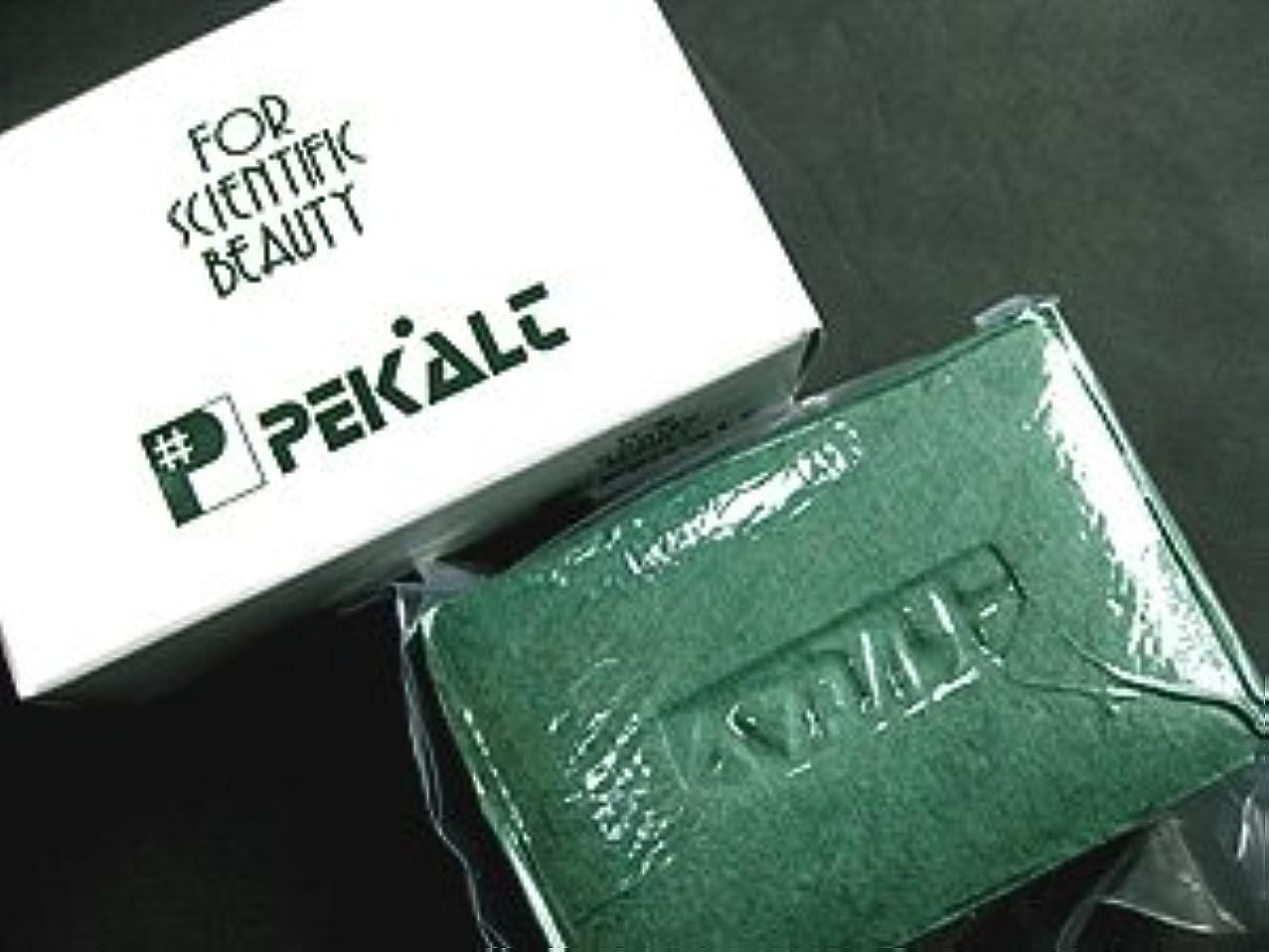 粘性の踏みつけピストンペカルト石鹸 120g (海藻エキス 葉緑素配合) 無香料