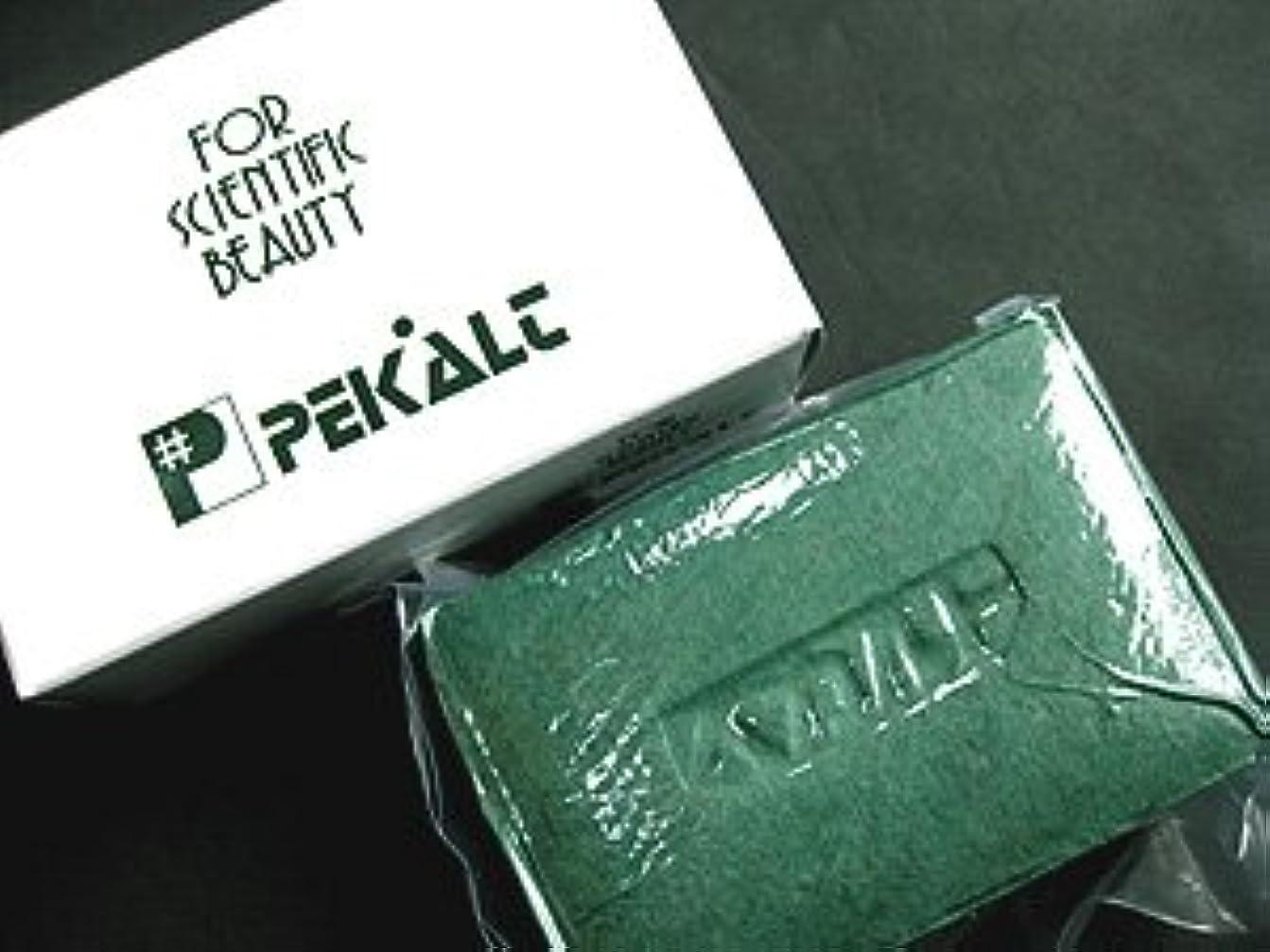 見つける公式メッシュペカルト石鹸 120g (海藻エキス 葉緑素配合) 無香料