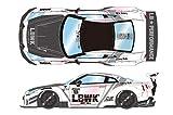 EIDOLON 1/43 LB WORKS GT-R Type 2 Racing spec パールホワイト (ピンクエフェクト) 完成品