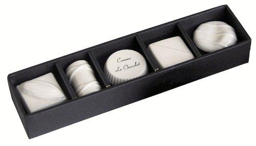 LOLO B STYLE KITCHEN カトラリーレスト(箸置) ショコラセット ホワイト 10401