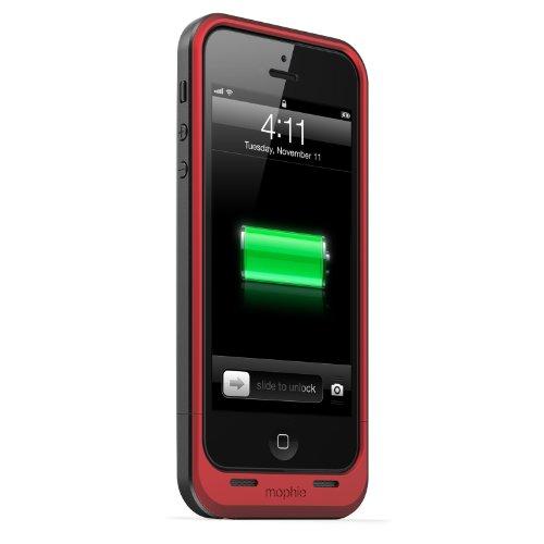 日本正規代理店品 保証付mophie juice pack air for iPhone SE/5s/5 (1,700mAh バッテリー内蔵ケース) (PRODUCT)RED プロダクトレッド MOP-PH-000032