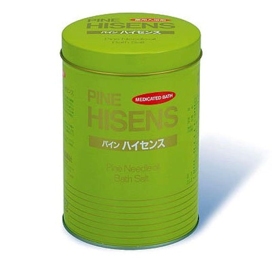 野心的帆雑種高陽社 薬用入浴剤 パインハイセンス 2.1kg 1缶