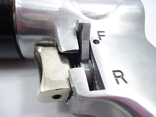 エアードリル リバーシブル式 正逆切替 チャックキー付 ハンドル付き 強力タイプ 【安心60日保証付き】
