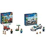 レゴ(LEGO) シティ バーベキューの火事 60212 おもちゃ 車 ブロック おもちゃ 男の子 車 &  シティ ポリスパトロールカー 60239 おもちゃ 車 ブロック おもちゃ 男の子 車【セット買い】
