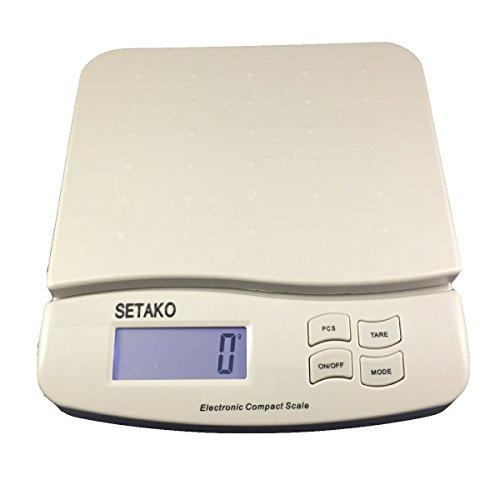 SETAKO 勢田工業 1g単位で最大25kg計量 デジタルスケール 精密はかり 電子秤 日本語説明書付