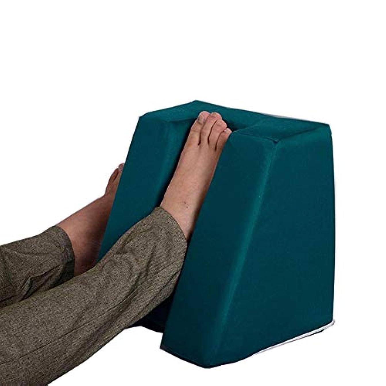 褥瘡用ヒールクッションプロテクター枕 ダブルフィルモイスチャーウィッキングコア付き1ペア圧力ヒールプロテクター