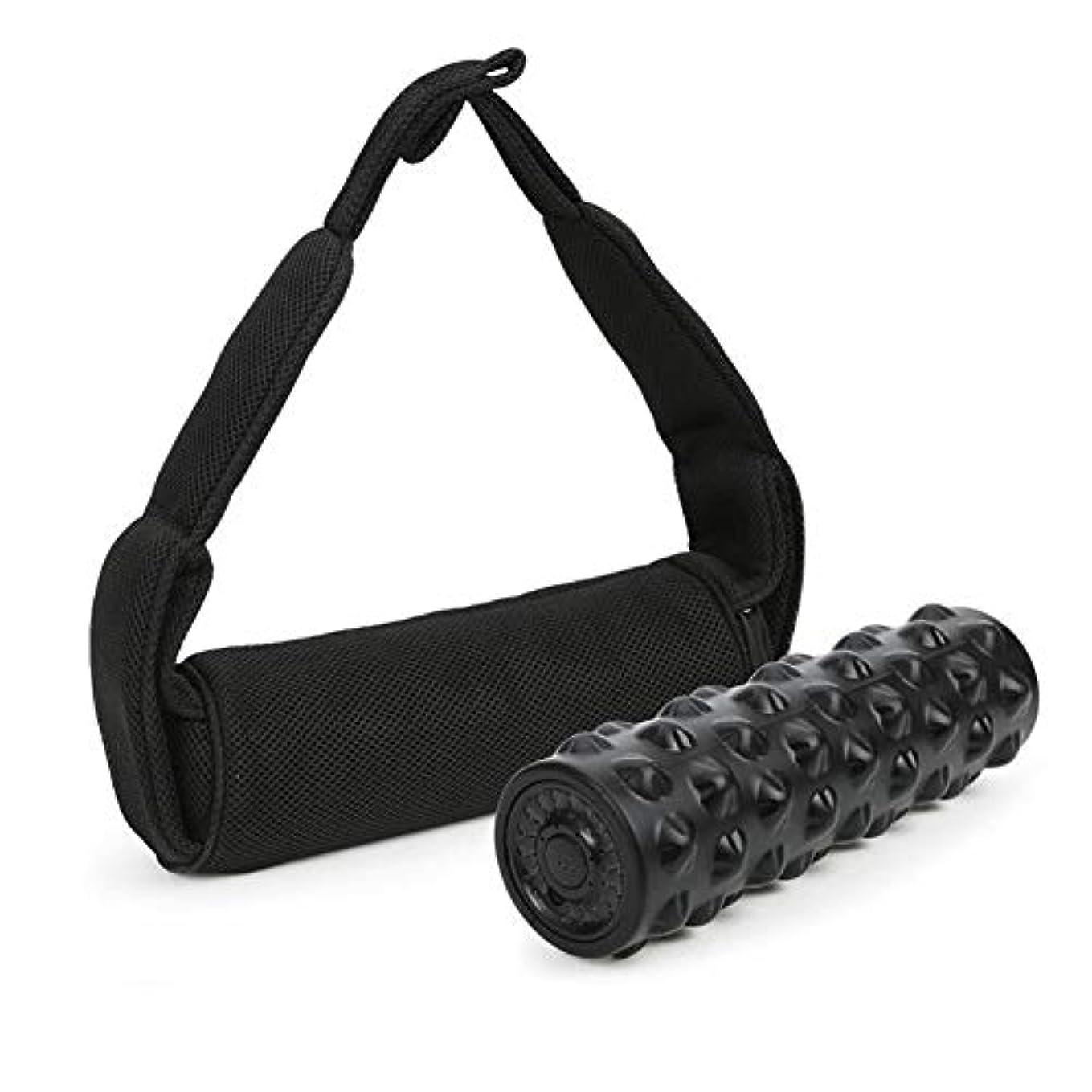 Semmeの泡のローラーの振動のマッサージャー、筋肉回復、弛緩、移動性、柔軟性の訓練、六角形様式のための4つの速度の調節可能な家のヨガの体育館装置の深いティッシュのマッサージ用具