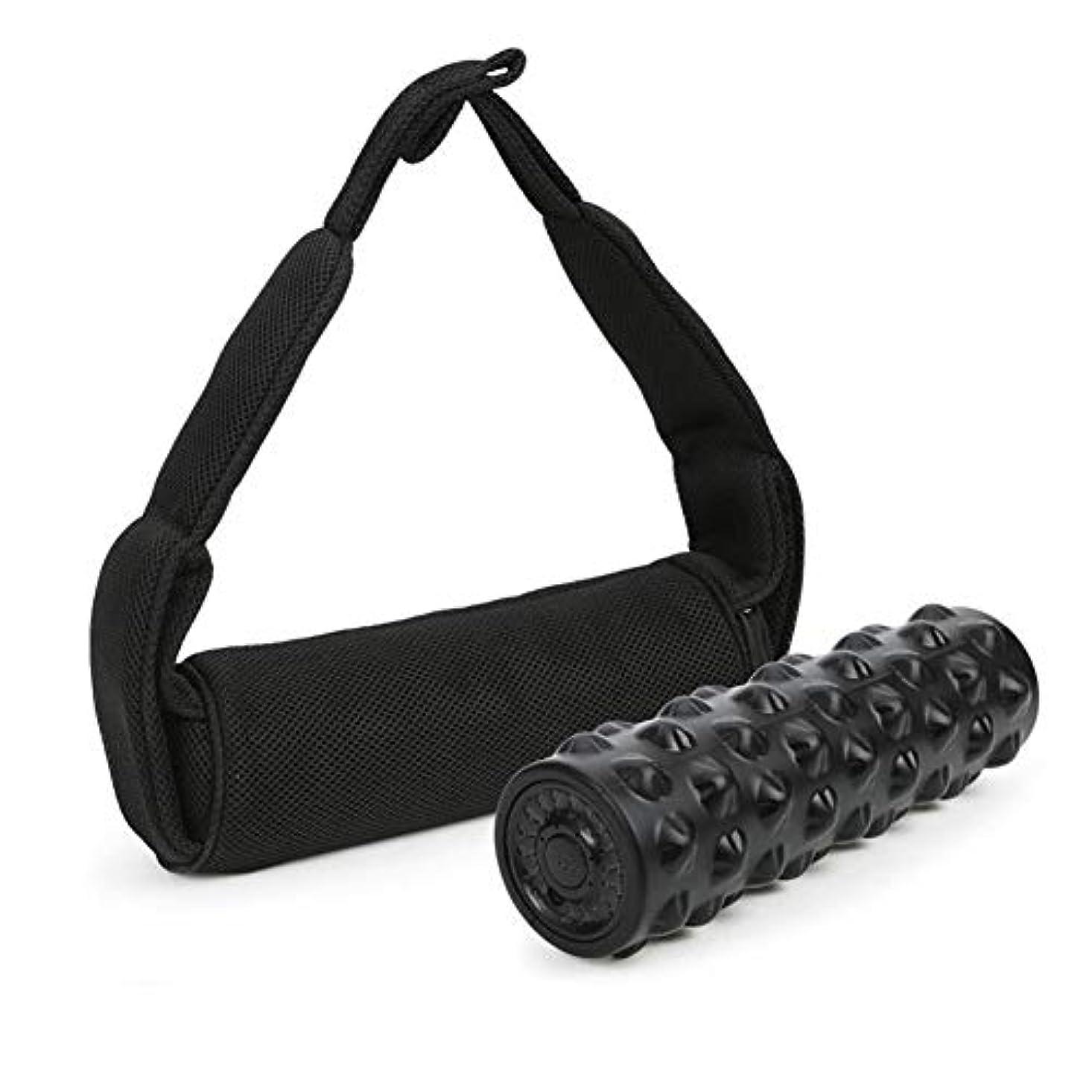 アーク圧力松Semmeの泡のローラーの振動のマッサージャー、筋肉回復、弛緩、移動性、柔軟性の訓練、六角形様式のための4つの速度の調節可能な家のヨガの体育館装置の深いティッシュのマッサージ用具
