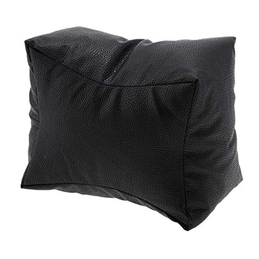 FLAMEER ネイル アームレスト ジェルネイルまくら ネイルアートピロー アームレスト クッション 枕 ピロー 3カラー - ブラック
