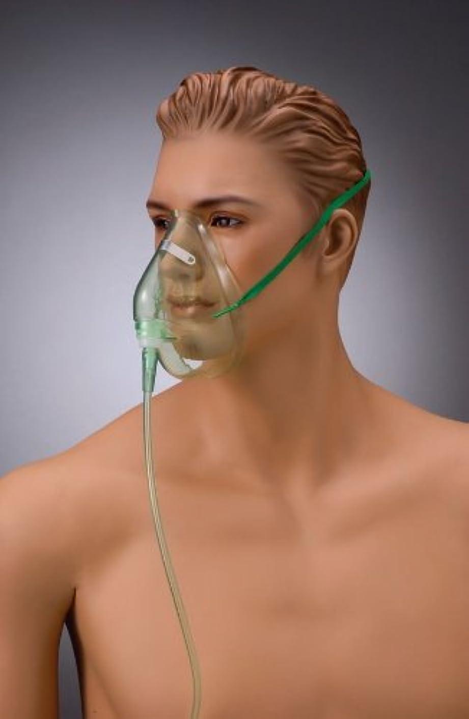 信頼性のある電圧洪水酸素フェイスマスクS NK-30105 10個入 (スタンダードコネクター) 成人用