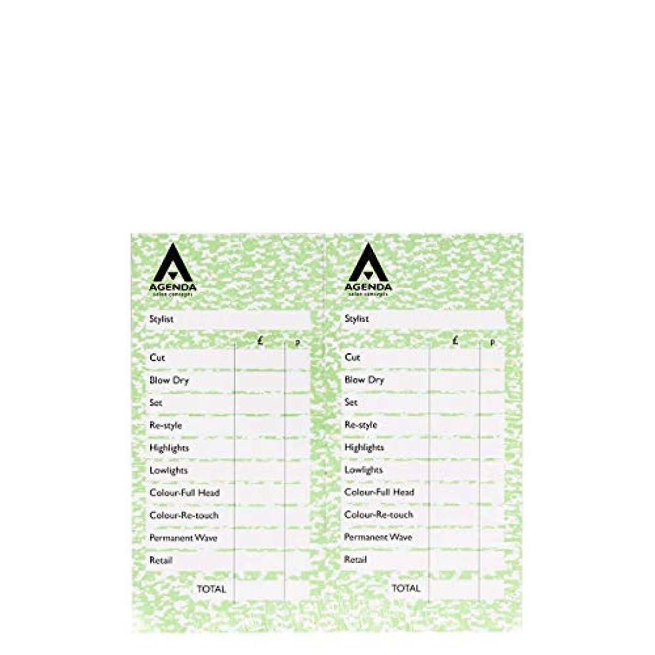 モルヒネ奨励ジャンクアジェンダ サロンコンセプト チェックパッドグリーン12x100リーフ[海外直送品] [並行輸入品]