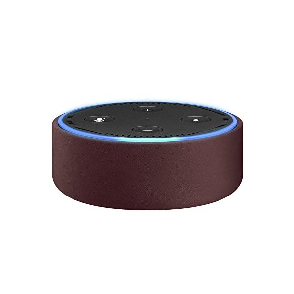 Amazon Echo Dot用レザーケース メルローの商品画像