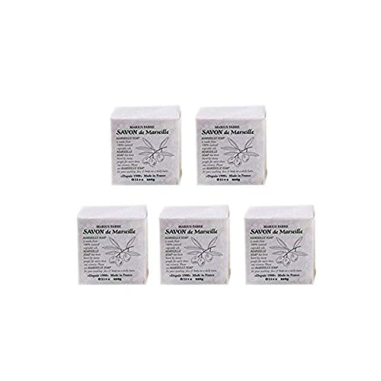 誤解するのためにかまどマリウスファーブルサボンドマルセイユ無香料オリーブN(無香料)5個セット(200g×5個)マリウスファーブルのマルセイユ石鹸 無香料
