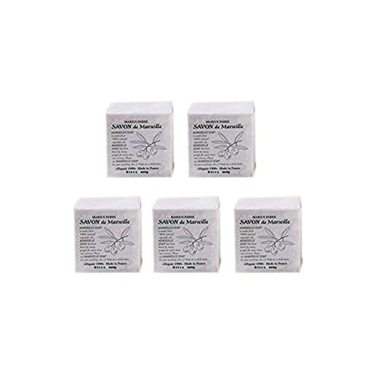 同様に夜納屋マリウスファーブルサボンドマルセイユ無香料オリーブN(無香料)5個セット(200g×5個)マリウスファーブルのマルセイユ石鹸 無香料