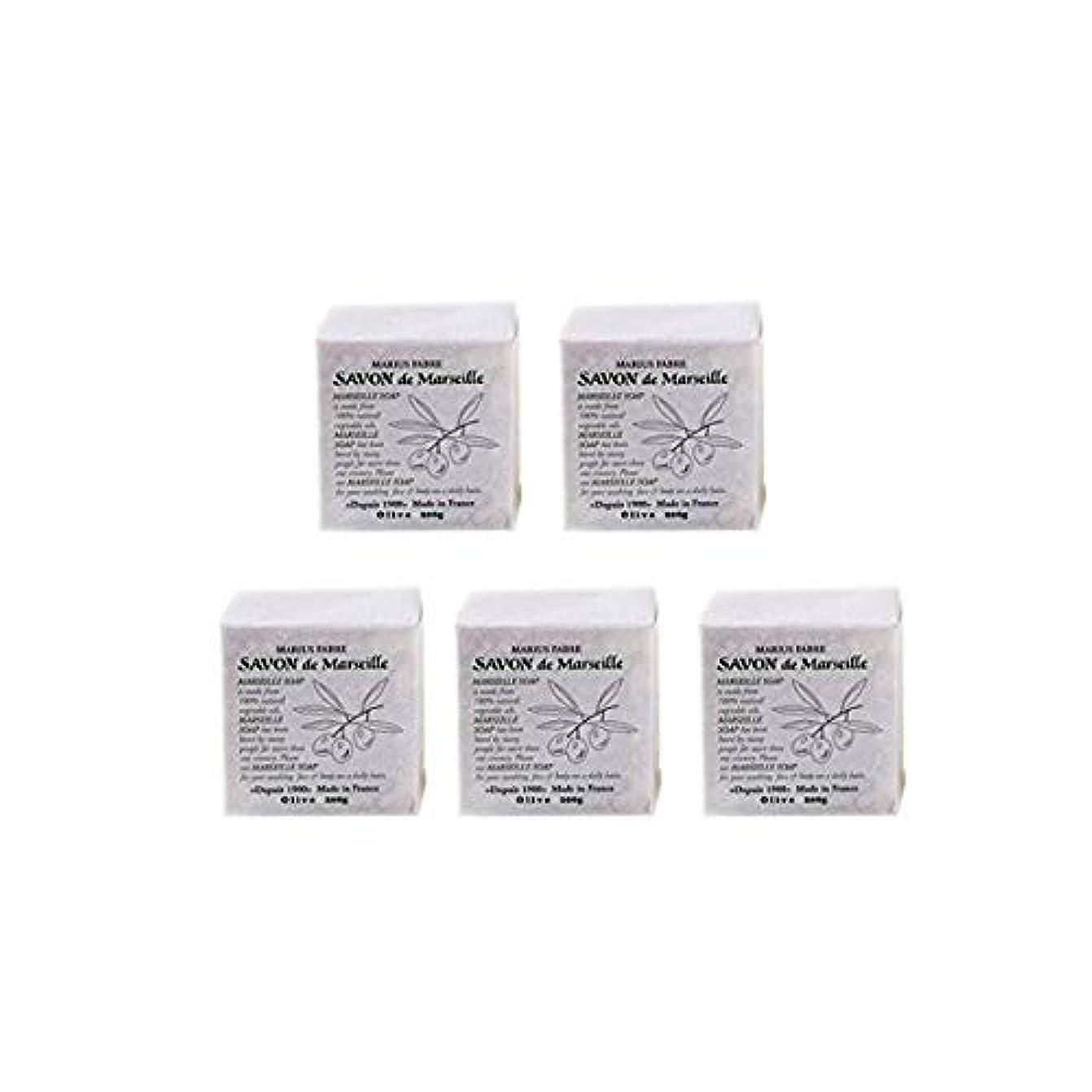 誘惑アドバンテージペイントマリウスファーブルサボンドマルセイユ無香料オリーブN(無香料)5個セット(200g×5個)マリウスファーブルのマルセイユ石鹸 無香料