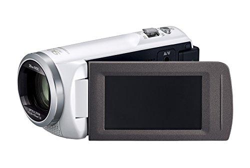 PanasonicHDビデオカメラV480MS32GB高倍率90倍ズームホワイトHC-V480MS-W