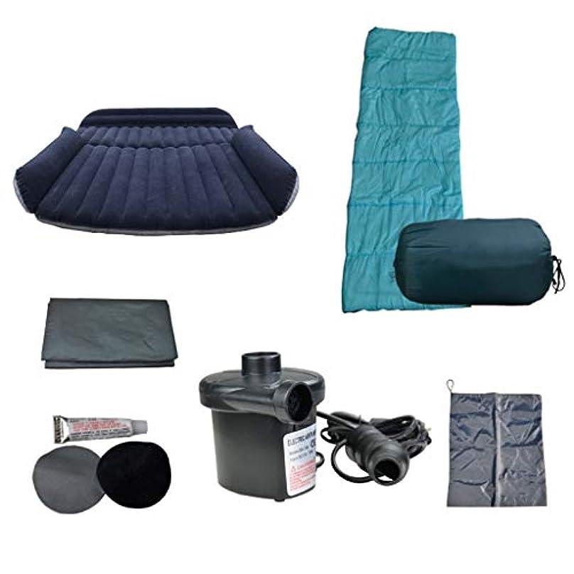 彫るジョージバーナード無関心キャンプSUVエアベッド、ピクニックマット寝袋、180×130×20センチメートル、300キログラムと屋外ダブルクイーンインフレータブルマットレス