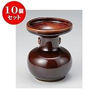 10個セット 雑器 松立4.5号 [10.5 x 13cm] お盆 供養 神事 お墓 仏壇 佛具