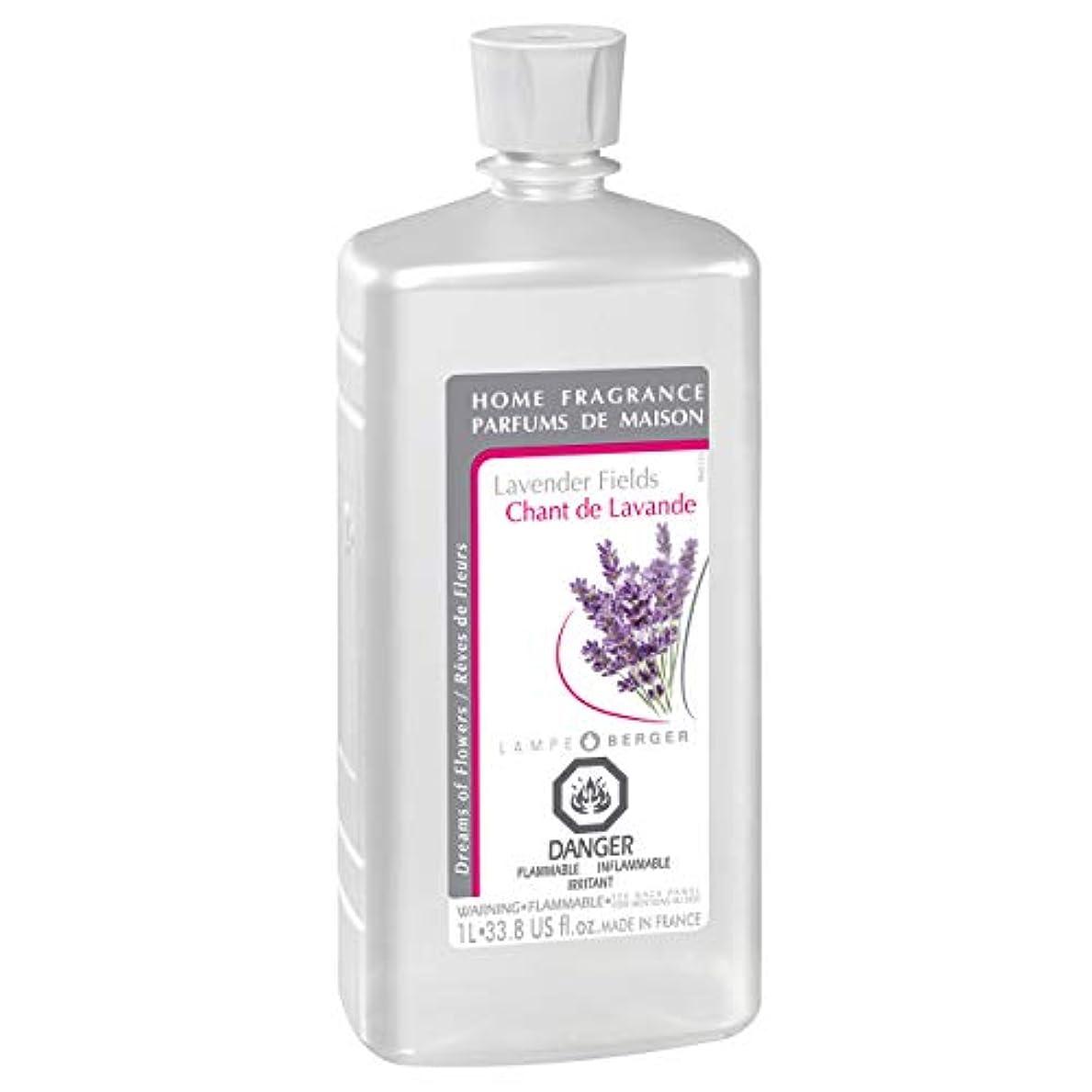 病弱売上高間Lampe Berger Fragrance, 33.8 Fluid Ounce, Lavender Fields by Lampe Berger