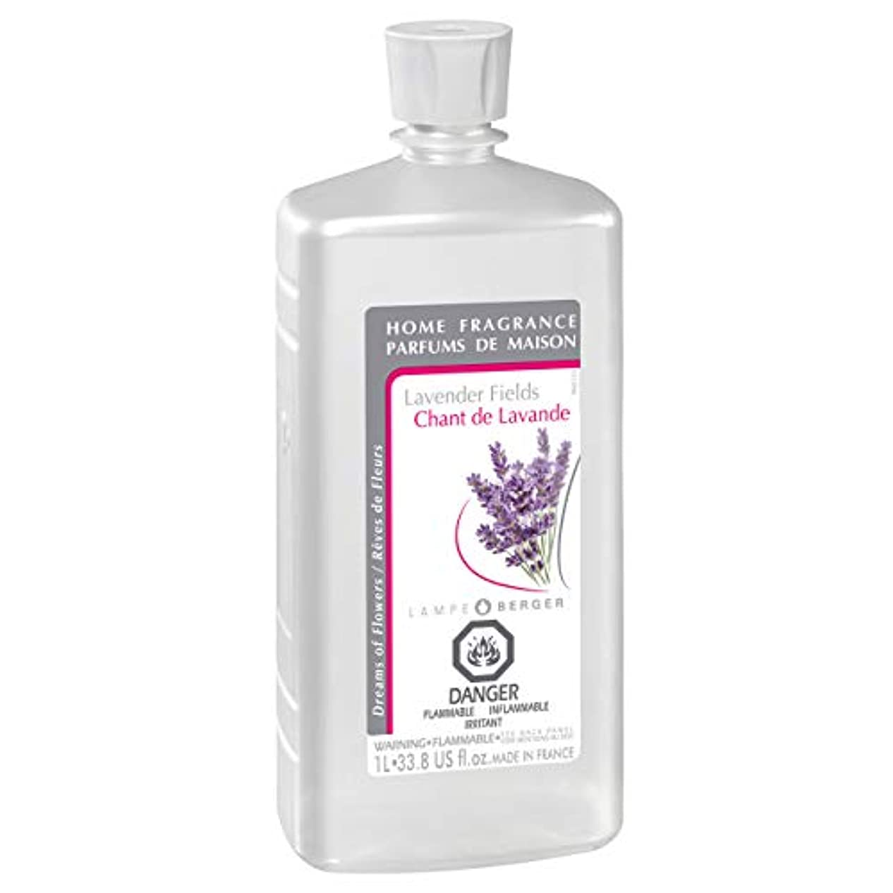 刺す一掃する追うLampe Berger Fragrance, 33.8 Fluid Ounce, Lavender Fields by Lampe Berger
