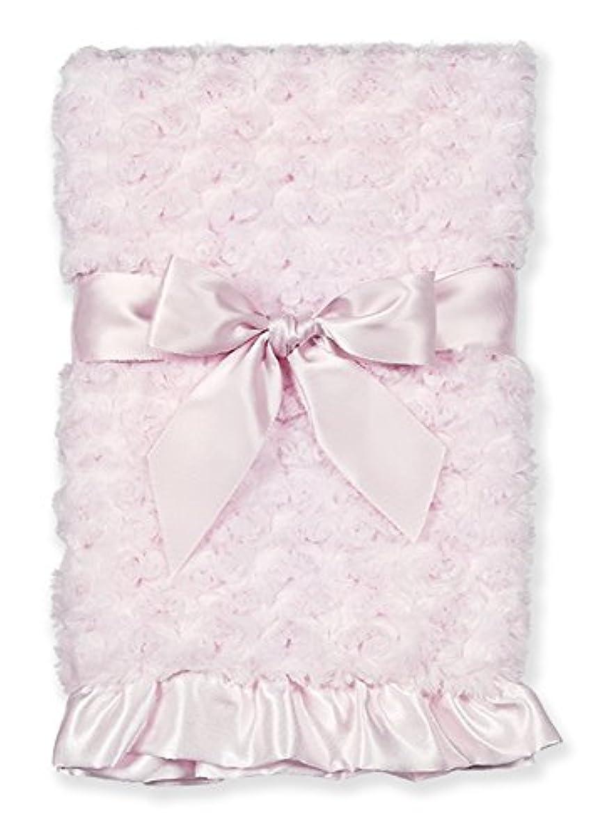 黒板規定匹敵しますBearington Baby Collection Plush Pink - small Swirly Snuggle Blanket by Bearington [並行輸入品]